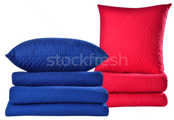 объекты мягкой подушкой белый Сток-фото © karammiri