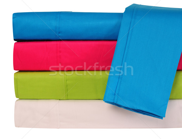 Stock photo: Bedding objects.