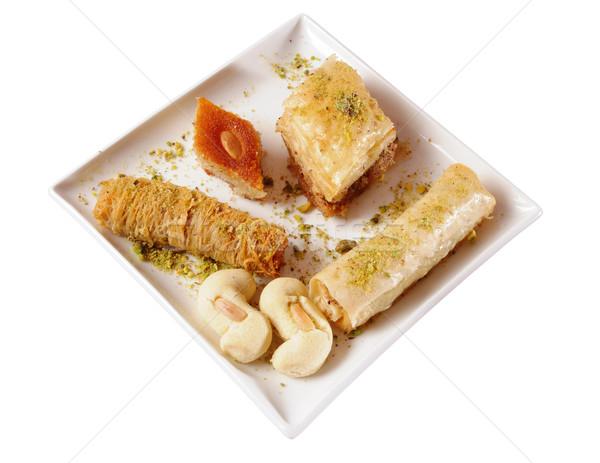 Stock fotó: Arab · édesség · közel-keleti · desszertek · desszert · méz