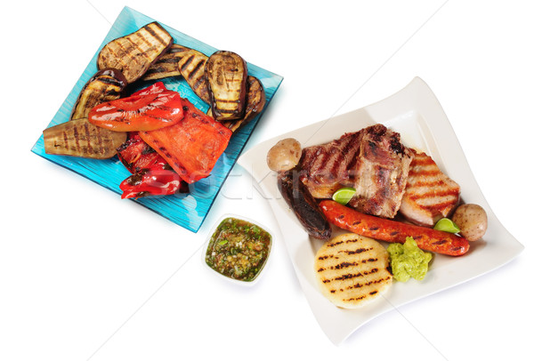 Barbecue. Stock photo © karammiri