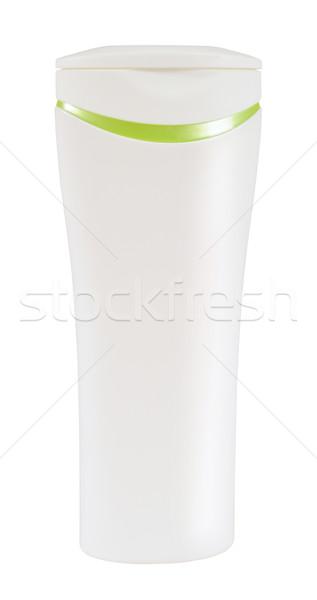 Beleza produto condicionador garrafa branco Foto stock © karammiri