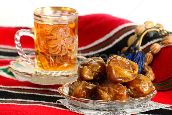 Datolya tea Isten antik vallás gyors Stock fotó © karammiri