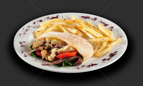 Shawarma Stock photo © karammiri