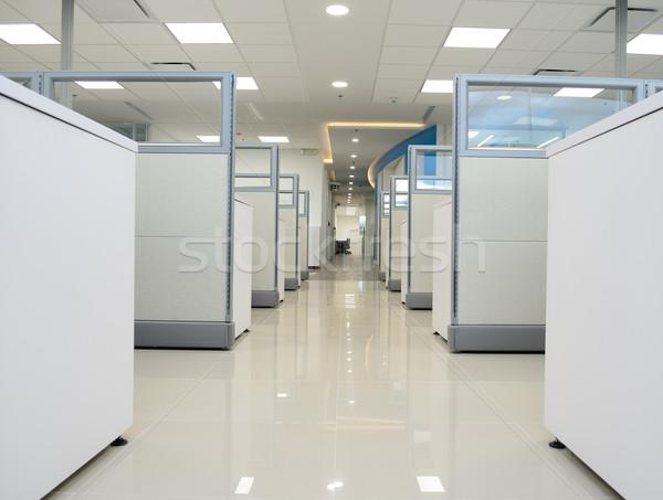 Boş modern ofis iç mobilya Stok fotoğraf © karammiri