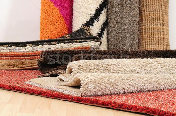 Stok fotoğraf: Halı · halı · doku · kumaş · pazar