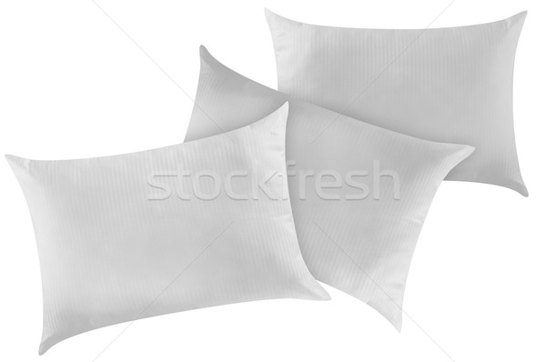 Stock photo: Pillow. Clipping path