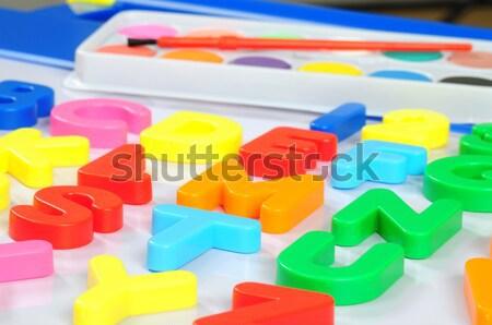 Educational board. Stock photo © karammiri
