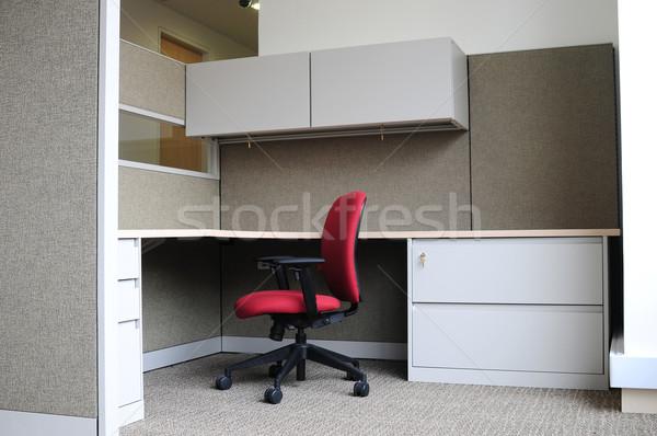 Irodák üres modern iroda belső bútor Stock fotó © karammiri