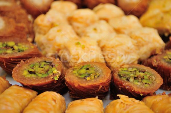 Stock photo: Arabic sweets.