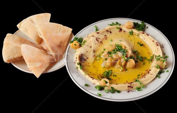 Hummus. Stock photo © karammiri