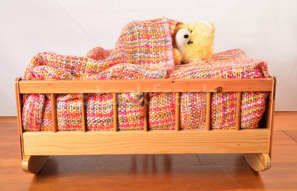 Toy in a crib. Stock photo © karammiri