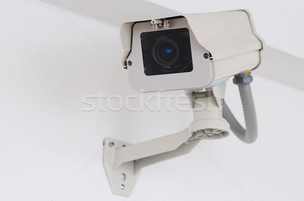 видеокамерой небольшой изолированный белый фильма технологий Сток-фото © karammiri