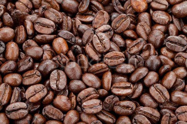 Grains de café alimentaire café espace énergie Photo stock © karandaev