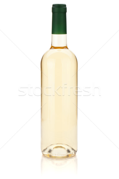 White wine bottle Stock photo © karandaev