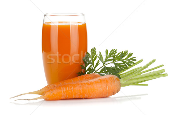 Vers geïsoleerd witte voedsel natuur Stockfoto © karandaev