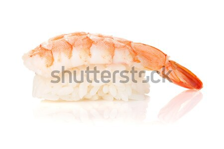 Shrimp sushi Stock photo © karandaev