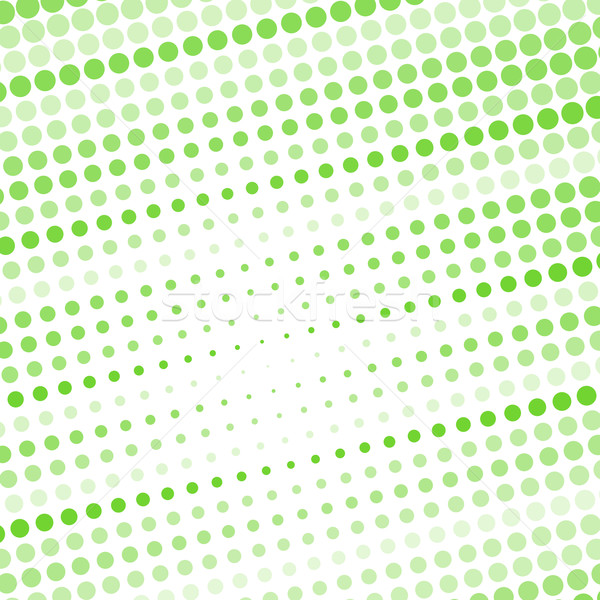 Abstract dotted green background Stock photo © karandaev