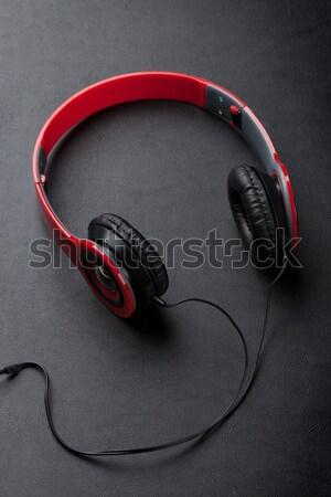 Headphones Stock photo © karandaev