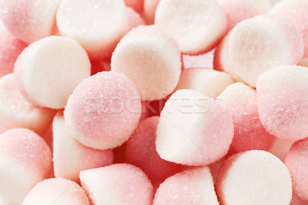 Pink jelly candies closeup Stock photo © karandaev
