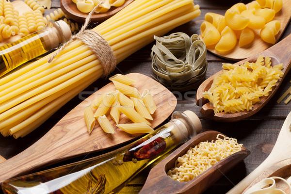 Pasta cottura alimentare tavola Foto d'archivio © karandaev