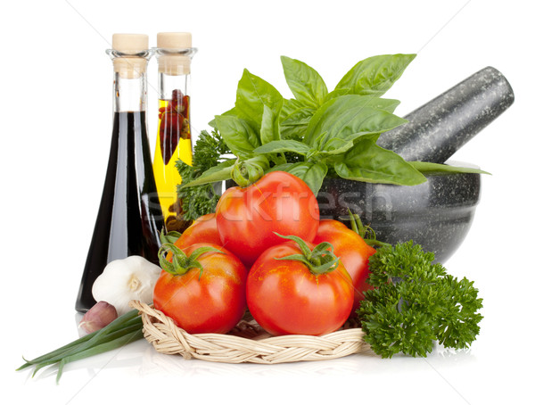 Italian food Stock photo © karandaev