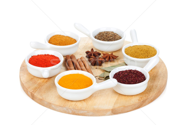 Various spices selection Stock photo © karandaev