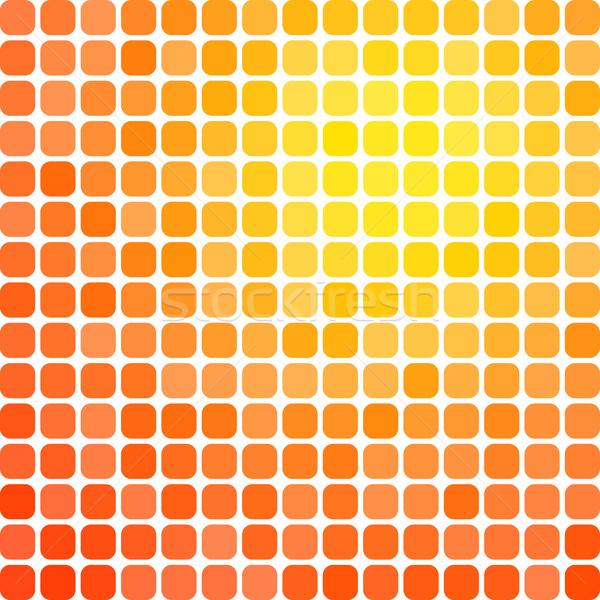 Résumé pixel mosaïque gradient coloré affaires Photo stock © karandaev