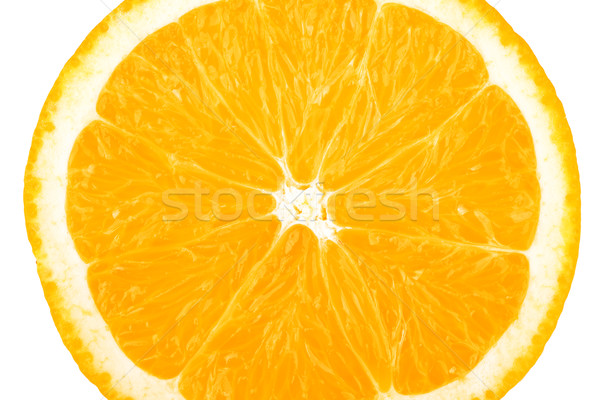 Macro food collection - Orange slice Stock photo © karandaev