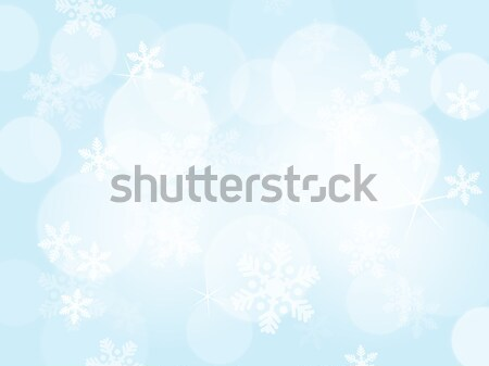 Abstract blue christmas background Stock photo © karandaev
