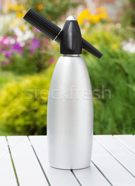 Siphon with soda Stock photo © karandaev