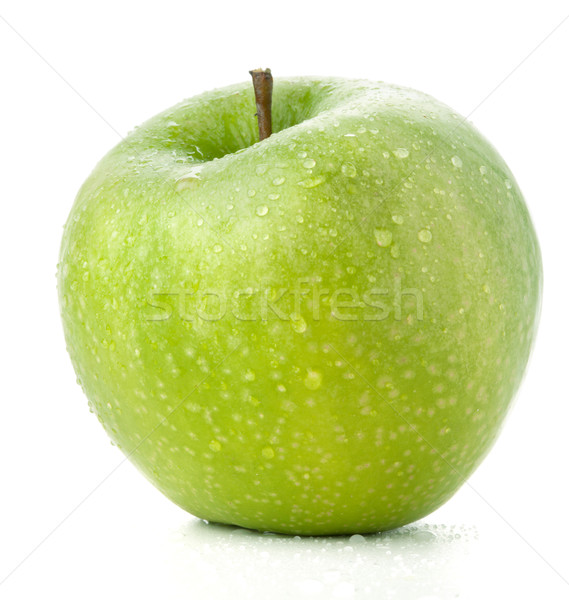 A ripe green apple Stock photo © karandaev