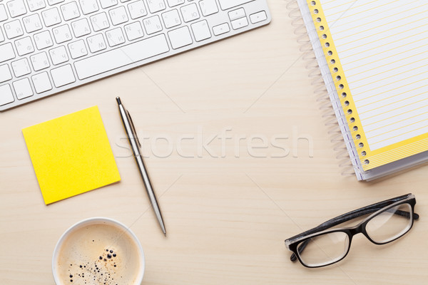 Office desk Stock photo © karandaev