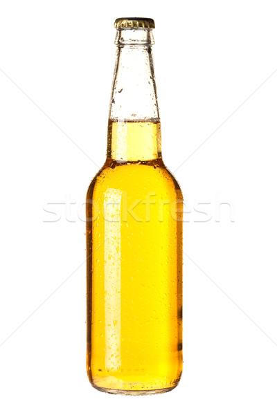Bière ensemble froid isolé Photo stock © karandaev