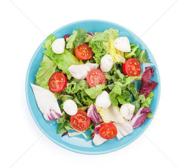 Fresh healthy salad Stock photo © karandaev