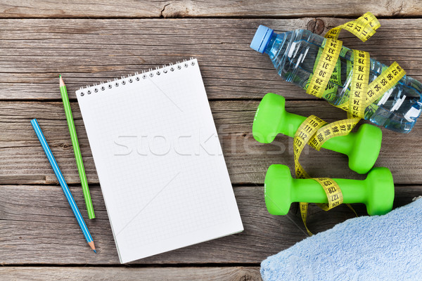 Stock photo: Diet and fitness concept