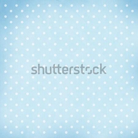 Retró stílus absztrakt kék terv születésnap háttér Stock fotó © karandaev