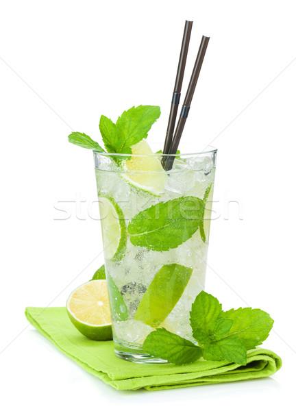Fresh mojito cocktail Stock photo © karandaev