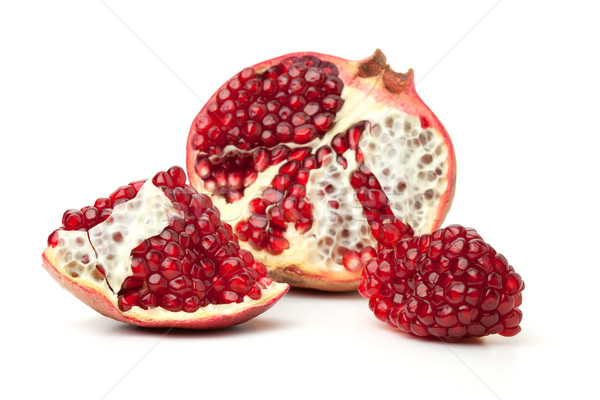 Red pomegranate fruit Stock photo © karandaev