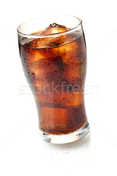 Cola glass Stock photo © karandaev
