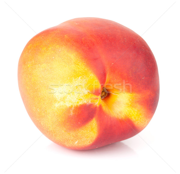 Ripe peach fruit Stock photo © karandaev