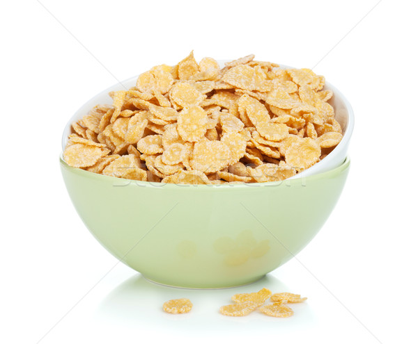 Stock photo: Fresh corn flakes