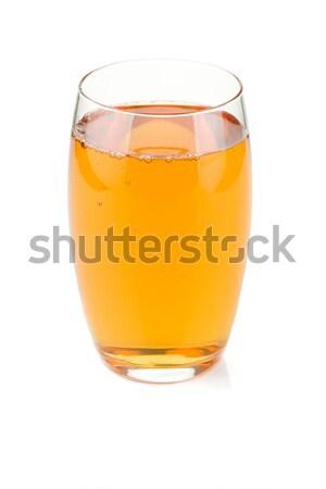 リンゴジュース ガラス 孤立した 白 食品 リンゴ ストックフォト © karandaev