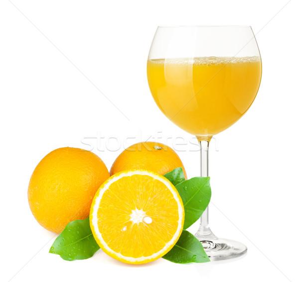 Orangensaft orangen weinglas isoliert wei essen for Wine and orange juice name