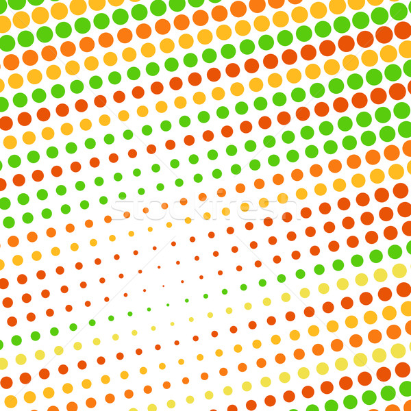 Abstrato pontilhado colorido textura negócio projeto Foto stock © karandaev