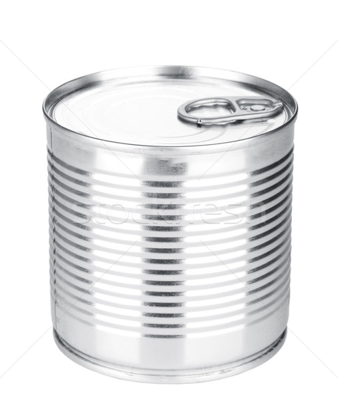 Tin can Stock photo © karandaev