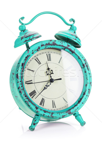 Vintage alarm clock Stock photo © karandaev