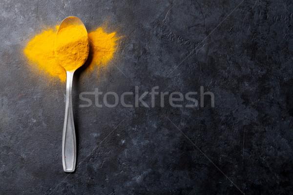 Turmeric spice Stock photo © karandaev