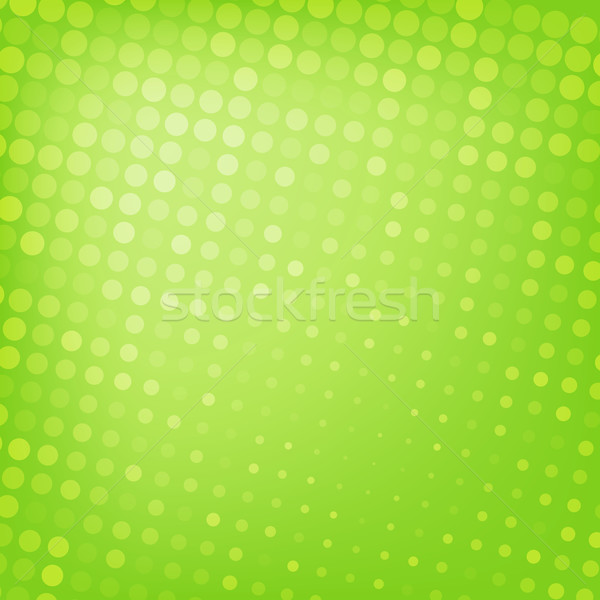 Abstract stippel groene textuur business ontwerp Stockfoto © karandaev