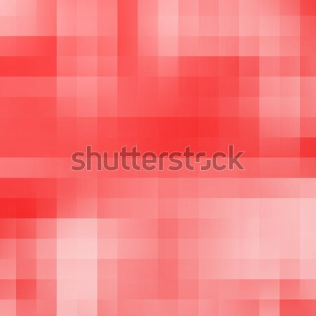 Abstract red geometric pixel background Stock photo © karandaev
