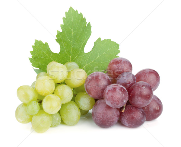 White and red grapes Stock photo © karandaev